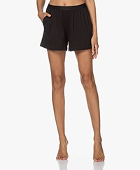 Organic Basics Tencel Jersey Shorts - Black