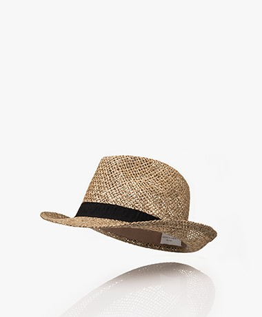 Resort Finest Fedora Hoed van Zeegras - Vineyard Green