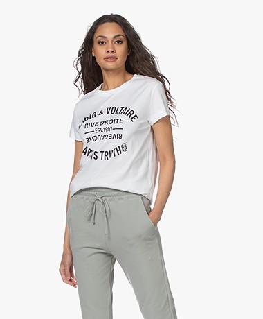 Zadig & Voltaire Walk Blason Printed T-shirt - White