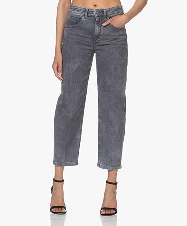 Drykorn Shelter O-Shape Jeans - Grijs