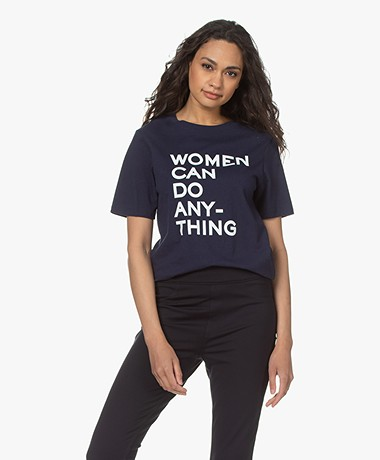 Zadig & Voltaire Bella Women T-shirt - Donkerblauw