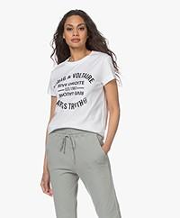 Zadig & Voltaire Walk Blason Print T-shirt - Wit