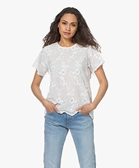Josephine & Co Suzie Broderie Anglaise Blouse - White
