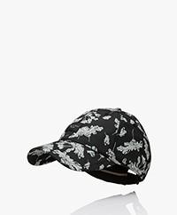 Rag & Bone Addison Print Pet - Black Floral