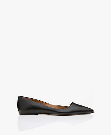 ATP Atelier San Cataldo Nappa Leather Flats - Black