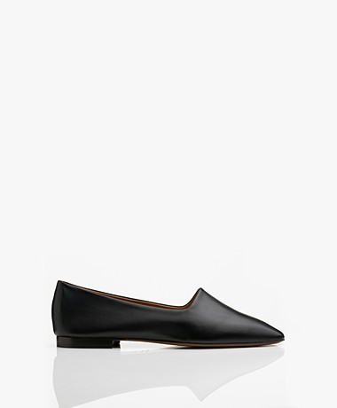 ATP Atelier Andrano Nappa Leather Loafers - Black
