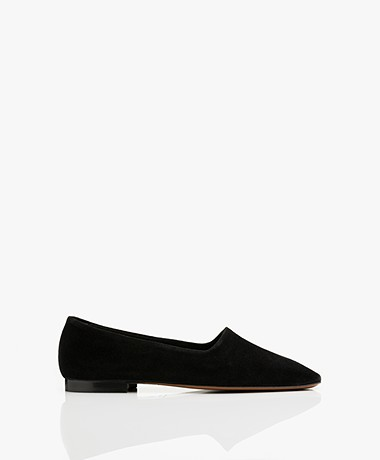 ATP Atelier Andrano Suede Loafers - Black