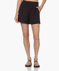 Rails Leighton Cotton Muslin Shorts - Black