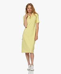JapanTKY Phyn Travel Jersey Polo Dress - Spring Yellow