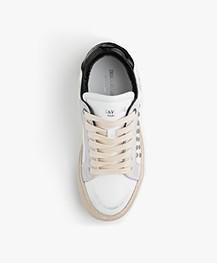 Zadig & Voltaire Heart Leren Sneakers - Used White