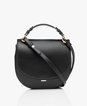Filippa K Harley Saddle Leather Bag - Black