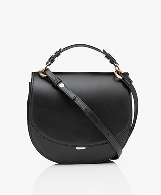 Filippa K Harley Saddle Leather Bag - Black