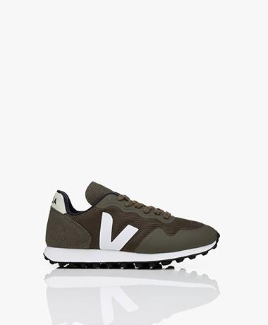 Veja SDU RT B-Mesh Sneakers - Olijfgroen/Wit
