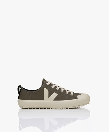 VEJA Nova Biologisch Katoenen Sneakers - Kaki Pierre