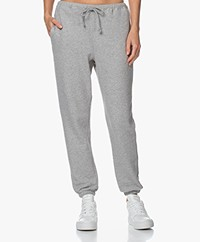 American Vintage Neaford French Terry Sweatpants - Grijs Mêlee