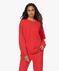 IRO Minna Merino Wool Blend Sweater - Red