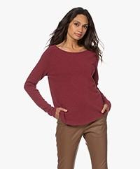 American Vintage Sonoma Slub Sweatshirt -  Vintage Muscat