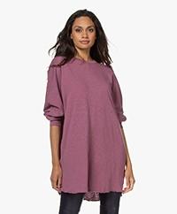 American Vintage Sonoma Dijlang Sweatshirt - Vintage Rosewood