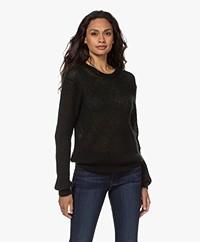 Filippa K Felicia Mohair-Wool Blend Sweater - Dark Spruc