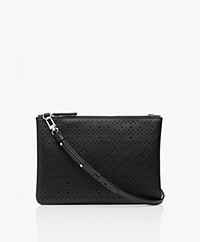 By Malene Birger Evi Cross-boy Tas/Clutch - Zwart
