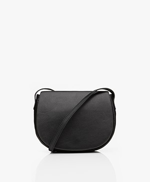 by-bar Paris Leather Cross-body Bag - Black