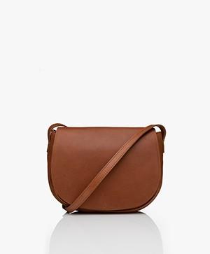 by-bar Paris Leather Cross-body Bag - Cognac