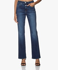 Closed Leaf Sustainable Flared Stretch Jeans - Dark Blue