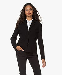Filippa K Maylene Sustainable Tailored Blazer - Black