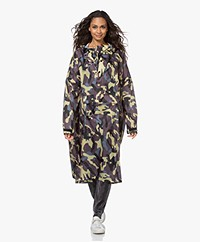 Rainkiss Camo Recycled Rain Poncho - Multi-color