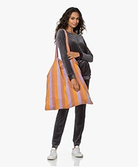 Speezys Amsterdam Terry Jersey Shopper - Bold Stripe