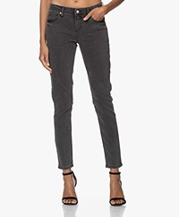 MKT Studio The Bardot Power Stretch Jeans - Grey Kurt Wash