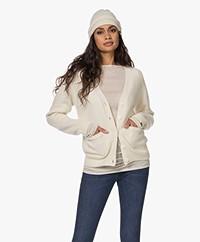 extreme cashmere N°34 Bon Cashmere Muts - Cream