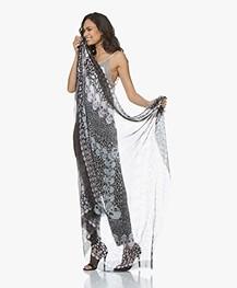 Zadig & Voltaire Kerry Garden Sjaal - Zwart