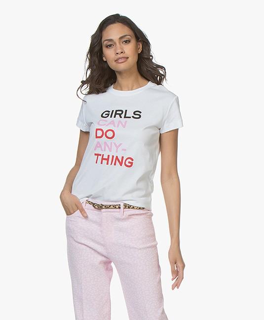 Zadig & Voltaire Walk Girls Statement T-shirt - Wit