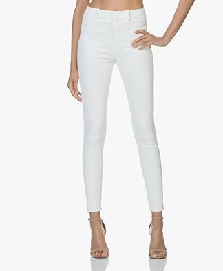 Drykorn Winch Coated Slim-fit Pants - White