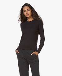 Filippa K  Merino R-neck Sweater - Navy