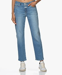 Closed Jay Stretch Denim Straight Jeans - Mid Blue