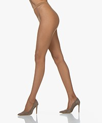 Wolford Twenties Net Tights - Honey