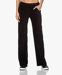 Majestic Filatures Corduroy Jersey Sweatpants - Zwart