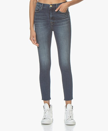FRAME Ali High Rise Skinny Cigarette Jeans - Lupin