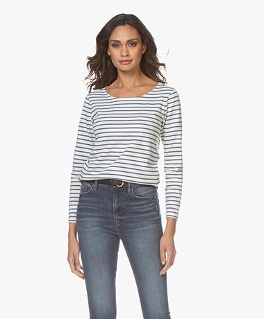 Plein Publique Gestreepte Longsleeve L'Aimee - Jeans