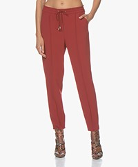 Filippa K Fiona Drapey Pants - Pure Red