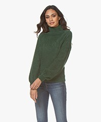 Plein Publique Le Doux Soft Turtleneck Sweater - Green