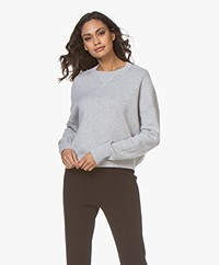 Filippa K Soft Sport Double Knit Sweater - Light Grey
