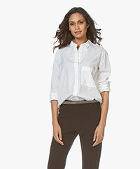 Closed Hailey Katoenen Blouse - Wit