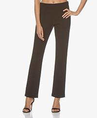 By Malene Birger Christah Crepe Jersey Pants - Black