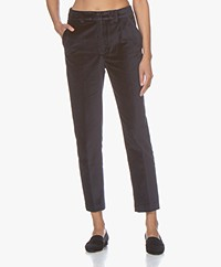 ANINE BING Ella Velvet Pants - Ink