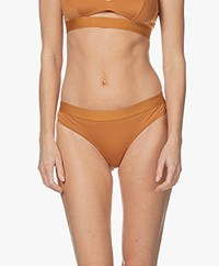 Organic Basics Tencel Jersey 2-Pack Thongs - Ochre Yellow
