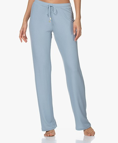 HANRO Essentials Long Pants - Aquamarine