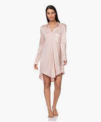 HANRO Grand Central Boyfriend Nightshirt - Petal
